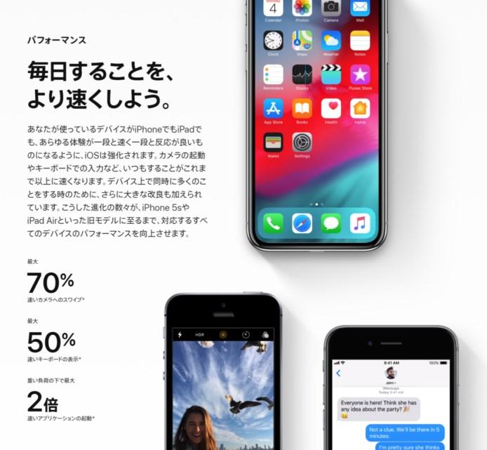 OS12アップデート